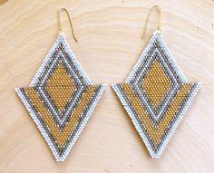 Golden+Tulip+Earrings+by+wildmintjewelry+on+Etsy