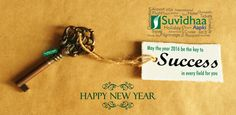 May the year 2016 be the key to SUCCESS in every field for you.  Suvidhaa Aapki wishes you HAPPY & PROSPEROUS NEW YEAR.