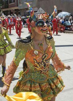 Color cuernos - Diablada Bolivia