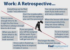 Work: A Retrospective... #joke