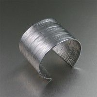 #Aluminum Bark #Cuff. Too bold not to be beautiful!   http://www.johnsbrana.com/aluminum-bark-cuff.html  $65.00