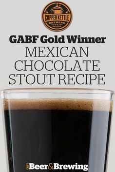 Copper Kettle Mexican Stout Recipe Source by craftbeerbrew Brewing Recipes, Homebrew Recipes, Beer Recipes, Coffee Recipes, Mexican Recipes, Home Brewery, Home Brewing Beer, Brewing Supplies, I Like Beer