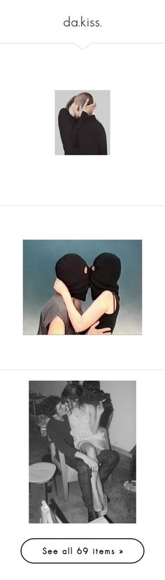 """""""da.kiss."""" by makyragdoll ❤ liked on Polyvore featuring pictures, people, photos, backgrounds, couple, pics, couples, filler, art and petra collins"""