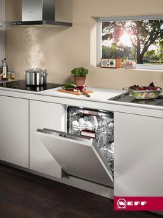 Lavavajillas con EmotionLight de NEFF #diseño #cocinas #neff
