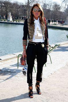 Las celebs en Paris Fashion Week
