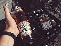Gewinn von @matemateofficial ist angekommen - vielen Dank  @thomashenryofficial #matemate #jägermeister #drink