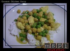 MSPI Mama: Coconut Chicken Curry
