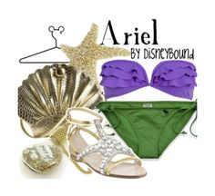 Disney Bound: Ariel from Disney's Little Mermaid (Pool Party Outfit)