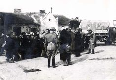 April 1942, Deportation of Jews from Wloclawek, Poland to the Chelmno Death Camp. - At the end of 1939, many Jews were sent to the ghettos of other cities, and the remaining Jews in Wloclawek were moved into a ghetto in October 1940. On 24-27 of April 1942, the ghetto was liquidated when the remaining Jews, mostly the elderly, women and children were sent to their death in Chelmno.