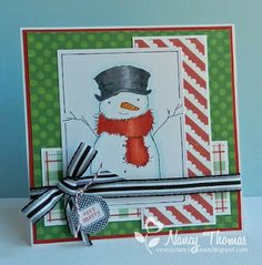 Creative  Palette: Christmas in July 14 - Very Merry