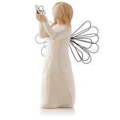 Willow Tree® Angel of Freedom Butterfly Figurine