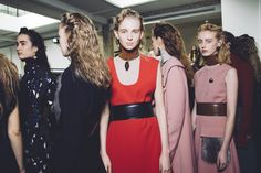Marni Fall 2015 RTW  the dusty pink dress- wow