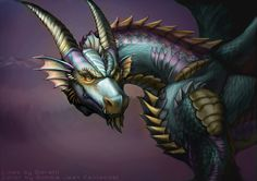 Dragon by Bobbie-the-Jean.deviantart.com on @deviantART
