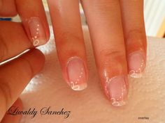 Natural Gel Overlay + Nail Art  £25