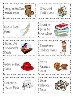 Classroom Coupons as Rewards | Classroom ~ ideas, decor, bulletin ...