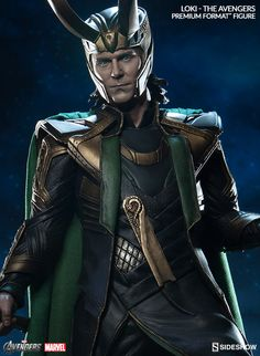 The Loki Premium Format Figure is now available at Sideshow.com for fans of Marvels Avengers.