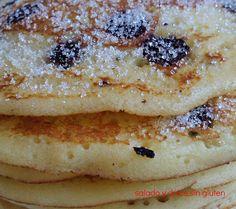 Salado y dulce sin gluten: Tortitas para el desayuno