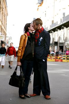 On the Street…….The Kiss, Sodermalm, Stockholm « The Sartorialist