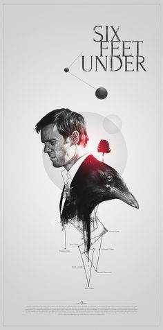 six feet under by aykut aydogdu, via Behance