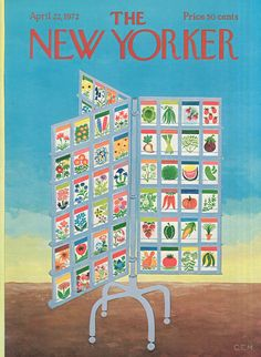 The New Yorker - Saturday, April 22, 1972 - Issue # 2462 - Vol. 48 - N° 9 - Cover by : Charles E. Martin