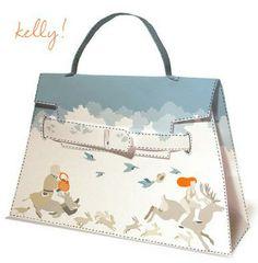 Hermès Kelly bag, winter customized