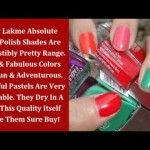 Cosmetics Review | Lakme Absolute Nailpaint | Beauty, Fashion & Makeup -   This is a video blog about Beauty, Fashion, Makeup and Lifestyle. Created from our popular blog website Café Pink. You can read the same review or article in text in more det