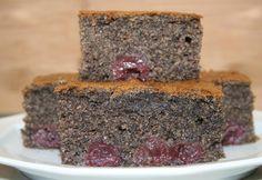 Mákos-meggyes bögrés Hungarian Cake, Poppy Cake, Poppies, Food And Drink, Gluten Free, Favorite Recipes, Meals, Desserts, Foods