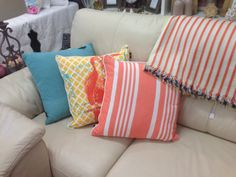 Gorgeous new season Madras Link Cushions