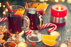 Ever heard of Christkindl Glühwein? Here's the scoop on this German drink (plus a recipe for making your own at home). Cheers to that! Pumpkin Recipes, Fall Recipes, Great Recipes, Drink Recipes, Holiday Recipes, Red Wine Cabernet, Le Gui, Honey Wine, Spiced Wine