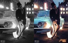 Goodyear illuminated tires 1961