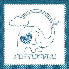 Teddy & Co.: stitch calendar  SEPTEMBER