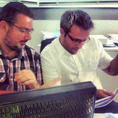Franck Delamonica, directeur technique et Lohen Florent, développeur #OPS2