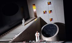 Salome. Opera National de Montpellier. Set design by Conor Murphy. 2005