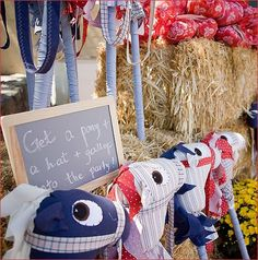 STICK HORSES:  Delightful Endeavors: Wild West Birthday