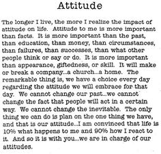 Attitude by Charles Swindoll