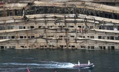 They've Turned Over The Costa Concordia And The Pictures Are Nuts