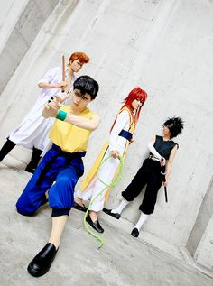 Yu Yu Hakusho Cosplay (Again, wonderful cosplaying. Lovin' how good they all look.)