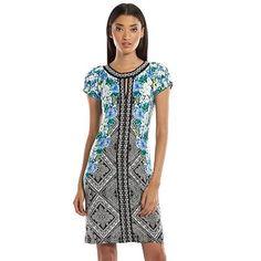 Apt. 9® Beaded Shift Dress - Women's