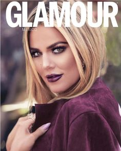 No sisters needed: Khloe Kardashian just proved she shines just as brightly as a solo act, appearing on the cover of Glamour Mexico's July 2016 cover with an undeniable glimmer in her eye