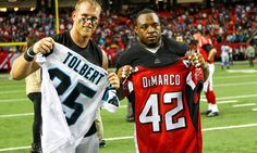 Report: Bills adding Falcons' FB Patrick DiMarco = According to reports, the Buffalo Bills are going to add fullback Patrick DiMarco. He has been with the Atalanta Falcons for the last four years. He's now getting a four-year deal with the Bills that will pay him $8.5M if he plays out the entire thing. Of that, it looks like $4M is guaranteed money. The Falcons and DiMarco have been…..