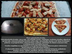 Pizza z pšeničného kvásku Pizza
