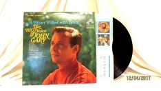 1966 John Gary A Heart Filled With Song Vinyl LP 33 RCA Victor LSP 3666 Jazz #JazzPop