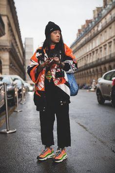 Christina Paik Streetstyle in Paris