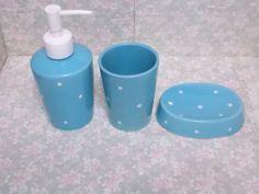 Kit banheiro - Azul