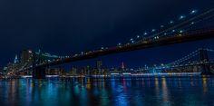 https://flic.kr/p/sAmLEL | Brooklyn and Manhattan Bridges | Brooklyn & Manhattan Bridges, New York.