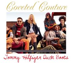 Coveted Couture: Tommy Hilfiger Duck Boots