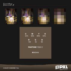 """""""Innocent X"""" by Francis Bacon.      C 52% M 56% Y 69% K 34%     R 100 G 84 B 68     PANTONE 7532 C     #645444"""