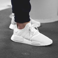 """adidas NMD R1 """"Triple White"""" available with FREE shipping"""