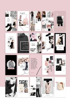 Social Media Collection / Templates - Instagram #simple #fashion #instagram
