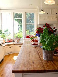 küchen arbeitsplatte holz ecksofa blumen                                                                                                                                                      Mehr